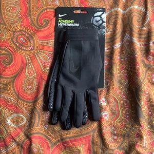 *NWT* Nike Academy Hyperwarm Soccer Gloves